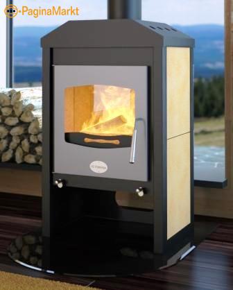 Design houtkachel CE Keurmerk en 5 jaar garantie