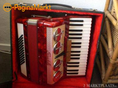 mooie scandalli accordeon 72 basser