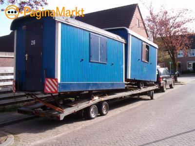 Caravan en PIPOschaftwagen vervoeren?