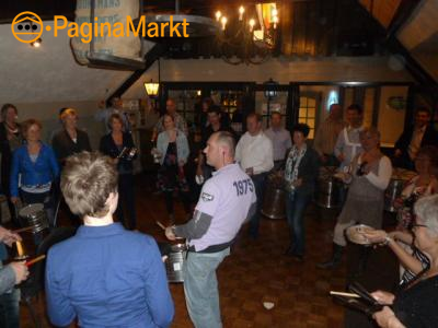 TEAMBUILDINGS Percussie workshops in Brabant