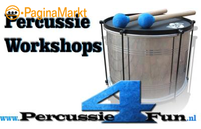 Braziliaanse Percussie workshops percussie4fun
