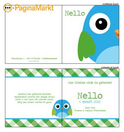 Geboortekaartjes zelf ontwerpen