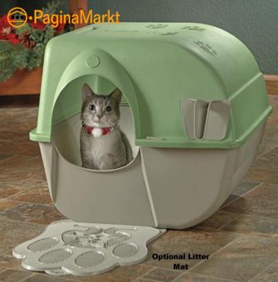 Omega Paw Roll \'n clean kattenbak