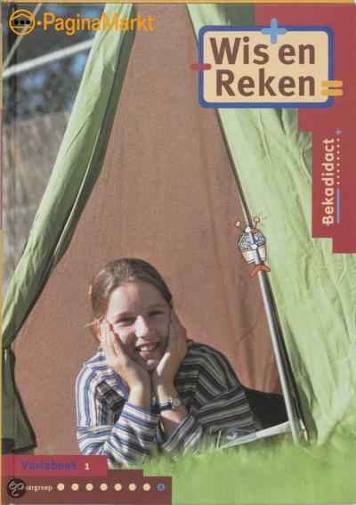 Wis en Reken / Groep 8 / deel Variaboek 1 / druk 1