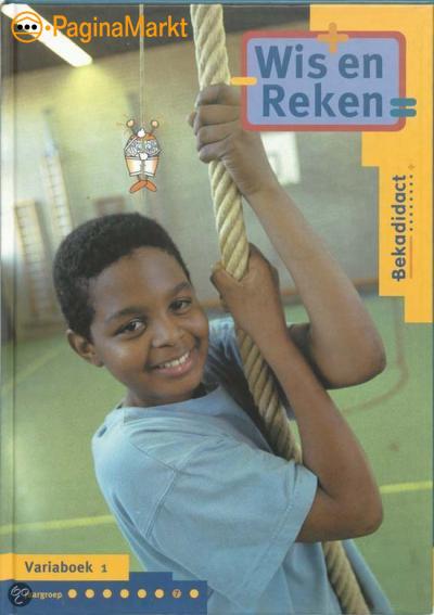 Wis En Reken / Groep 7 / Deel Variaboek 1