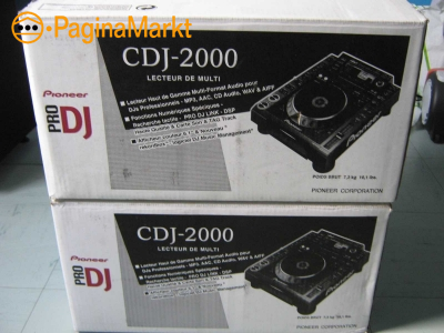 2x Pioneer CDJ-2000NXS2 & 1x DJM-900NXS2 Package