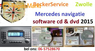 Mercedes Command Audio 50 Aps cd dvd 2015