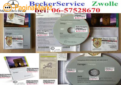Mercedes Comand APS, NTG1, NTG2, NTG4,  DVD 2015