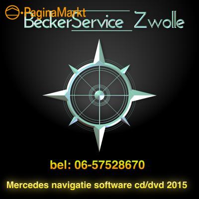 Mercedes navigatie updates cd dvd 2015