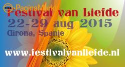 Festival van liefde 22 aug in Spanje