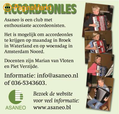 Accordeonlessen & ensembles