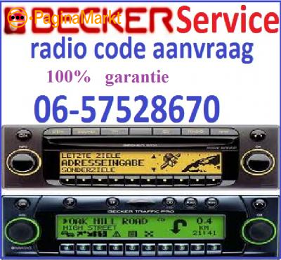 Becker Radio Code - Radio Code Service