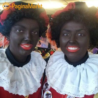 Zwarte Pieten op bezoek
