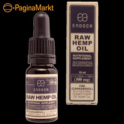 Endoca CBD olie 3% Raw