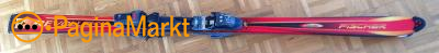 Fisher Dames Carve ski's met Salomon SX61 mt 38-39