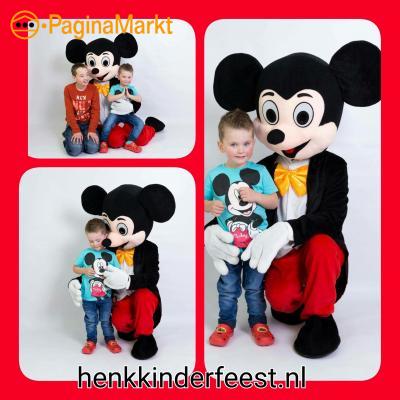 Mickey en mini mouse Spider-Man ballonnenclown enz