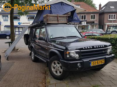 4x4 kampeerauto Land Rover Discovery 2