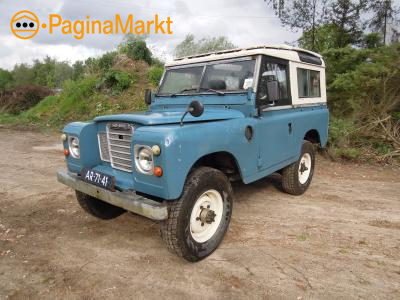 Land Rover 88 Series 3 1970 Blauw