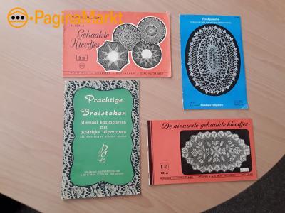Antieke haak-/breiboekjes