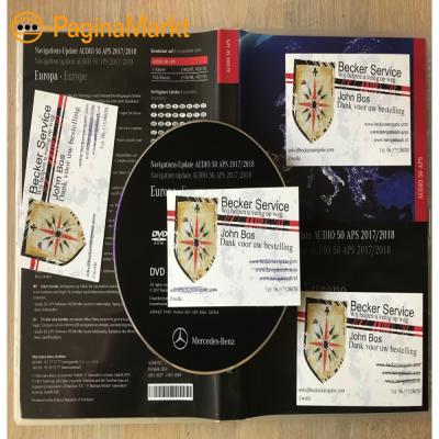 MERCEDES Audio 50 APS DVD NTG4 W 204 Nieuw 2018