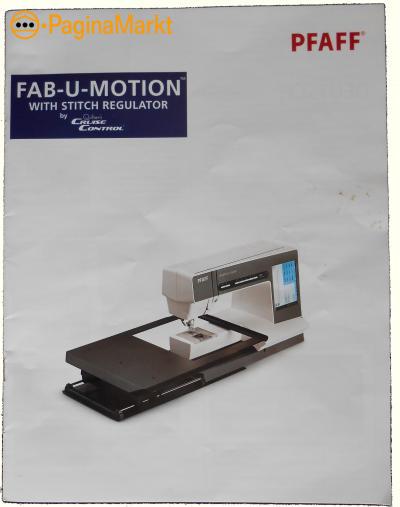 Pfaff Fab-U-Motion.