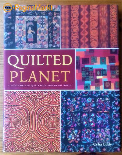 Boek: Quilted Planet door Celia Eddy