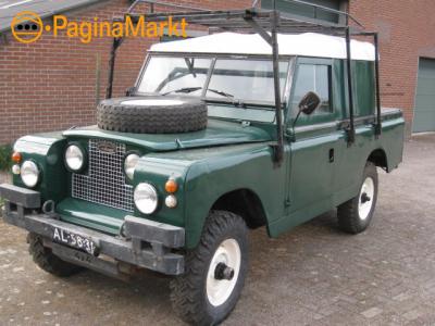 Land Rover Series 109 lpg 68 apkvrij belastingvrij