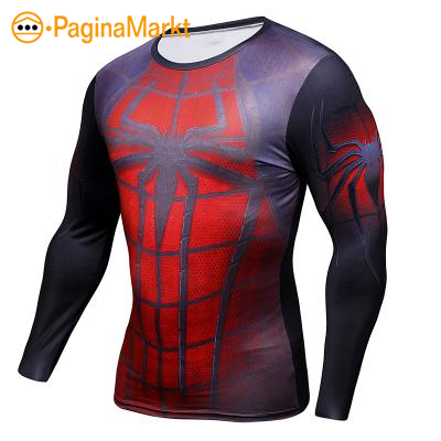 Lange mouw Spiderman shirt voor heren