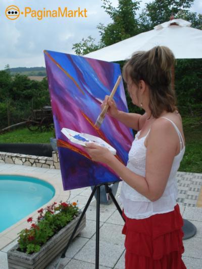 Ook jij kan Schilderen! Hongarije mooie locatie