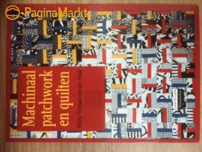 Boek : Machinaal Patchwork en quilten