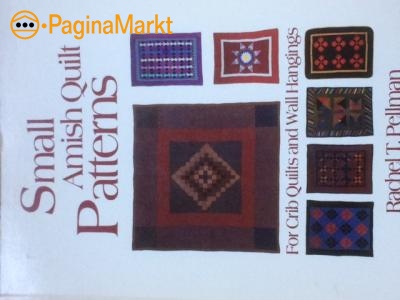 Boek : Small Amish Quilt Patters