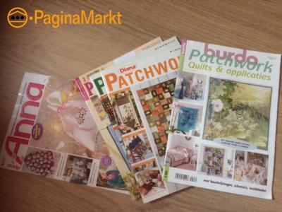 Patchwork en Quilttijschriften