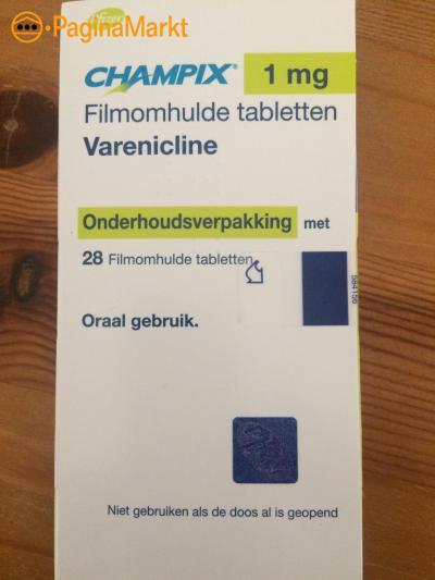 Champix 1 mg - 28 tabletten