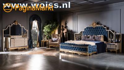 WOISS klassiek barok hoogglans complete slaapkamer