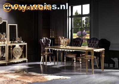 WOISS Meubels klassieke barok hoogglans Complete i