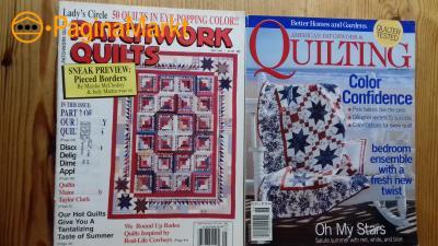 Quilt tijdschriften -- €1,50 per stuk
