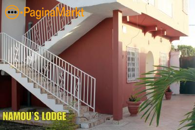 Namou's Lodge, Brufut. The Gambia, West Africa