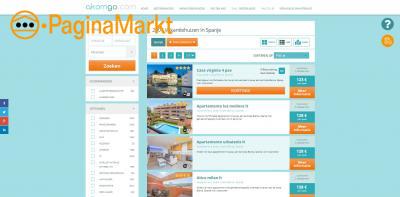 Vakantiehuisje in Spanje huren bij Akomgo