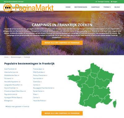 Boek een camping in Frankrijk