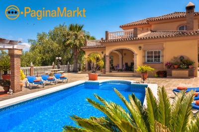 Villa huren met zwembad in Malaga