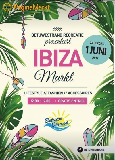 Marktkraam Ibizamarkt Beesd 1 juni 2019