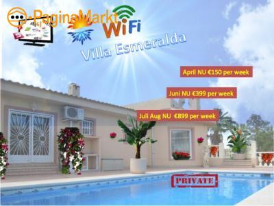 Villa**** met prive zwembad te huur Spanje Costa
