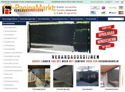 Verandazeil kopen | Verandagordijnen.nl