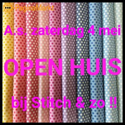 Open huis bij Stitch en zo in Gorinchem