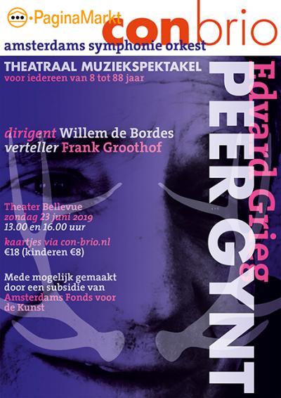 Theatraal muziekspektakel Peer Gynt