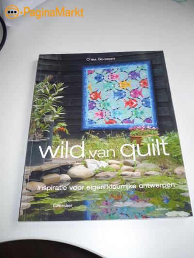 Boek Wild van Quilts van Chea Goossen