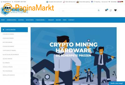Crypto miners voor crypto mining