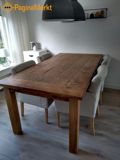 Eettafel+4 stoelen