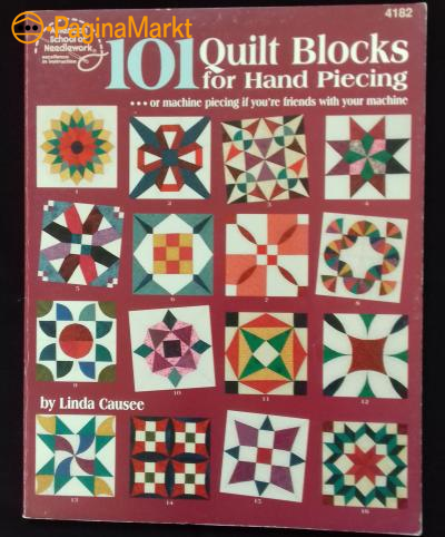 Boek: 101 Quilt Blocks for Hand Piecing