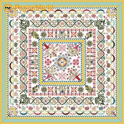 Patroon Love entwined quilt